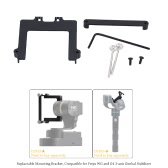 46mm Camera Repleaceable Mounting Bracket Set for Feiyu WG and G4 3-axis Gimbal Stabilizer