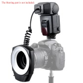 Godox ML-150 Macro Ring Flash Light Guide Number 10 with 6 Lens Adapter Rings for Canon Nikon Pentax Olympus DSLR cameras