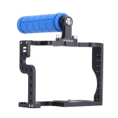 Andoer DSLR Camera Cage Rig with Top Handle Grip for Panasonic Lumix GH3 GH4 Camera