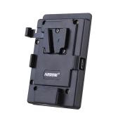 FARSEEING FK-V V Type Mount Plate Battery Converter Plate for Video Camera