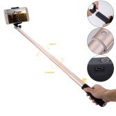 "Extendable Wireless Bluetooth Remote Control Selfie Stick Portable Handheld Monopod with 1/4"" Screw Hole for iPhone6 6Plus/Samsung S6 S5 S4/SONY Cellphone"
