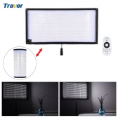 Travor FL-3060 LED Light 5500K CRI90+ 85W Max.8000LM Flexible Cloth Roll-up Handheld LED Video Photography Film Fill-in Light Panel with Remote Control Support 4 Groups
