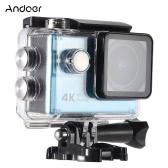 "Andoer Waterproof Ultra HD 2.0"" LCD 16MP 4K 1080P 60FPS 4X Zoom WiFi 25mm 173 Degree Wide-Lens Action Sports Camera"