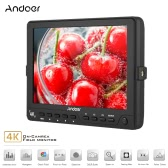 Andoer S7 Professional 7 inch On-Camera Field Monitor IPS Full HD 1920 * 1200 High Resolution Video Monitor Support 4K HDMI Signal for Sony Canon Nikon BMCC BMPC BMPCC 5D Mark III