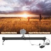 Andoer 1m/3.3ft Electric Control Time Lapse Photography Video DSLR Camera Slider Motorized Stabilizer Track Dolly Rail for Canon 7D,7DⅡ,6D,50D,5DⅡ,5DⅢ,5DS,5DSR,80D,760D,750D,700D,70D,650D,600D,60D,550D DSLR
