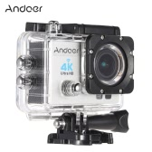 "Andoer Q3H 2"" Ultra-HD LCD 4K 25FPS 1080P 60FPS Wifi Cam FPV Video Output 16MP Action Camera 170°Wide-Angle Lens with Diving 30-meter Waterproof Case"