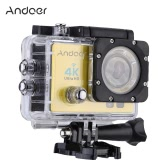 """Andoer Q3H 2"""" Ultra-HD LCD 4K 25FPS 1080P 60FPS Wifi Cam FPV Video Output 16MP Action Camera 170°Wide-Angle Lens with Diving 30-meter Waterproof Case"""