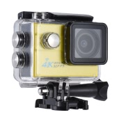"""2.0"""" LCD Wifi Action Sports Camera Ultra HD 16MP 4K 30FPS 1080P 60FPS 4X Zoom 170 Degree Wide-Lens Support Image Rotation Time Watermark Waterproof 30M Car DVR DV Cam Diving Bicycle Outdoor Activity"""