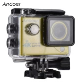 Andoer 4K 30FPS 1080P 60FPS Full HD DV 2.0in LTPS LCD Screen Wifi Waterproof 170°Wide Angle Outdoor Action Sports Camera Camcorder Digital Cam Video Car DVR