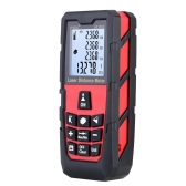 100m Digital Laser Distance Meter Handheld Laser Range Finder Measure Distance Area Volume Self-calibration Level Bubble Electronic Ruler High Precision
