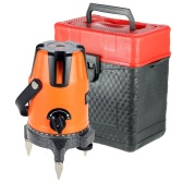 2 Lines Professional Horizontal Vertical Automatic Leveling Laser Level with Protective Glasses