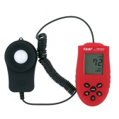 TASI-8721 1-200000LUX Hand-held Digital Luxmeter LCD Display Light Meter LUX/FC Luminometer Photometer Auto 50 Data Collection