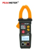 PEAKMETER PM2016S Handheld Smart Digital Mini LCD Clamp Meter Multimeter AC/DC Voltage AC Current Resistance Frequency NCV Measuring