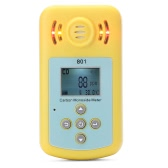 Carbon Monoxide Gas Meter CO Detector with LCD Display and Sound-light Alarm