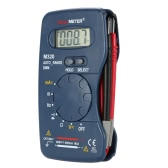 M320 Portable Handheld Mini Digital Multimeter AC/DC Voltage Current Resistance Frequency Capacitance Measuring Diode Continuity Test Data Hold