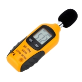 LCD Digital Sound Level Meter Noise Measuring Instrument Decibel Monitoring Logger Tester 40-130dB