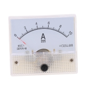 DC0-10A Analog Current Panel Meter Tester Ammeter Gauge