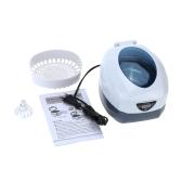 AC220V-240V 750ml Digital Household Ultrasonic Cleaner Glasses Watch Jewelry CD Cleaning Machine