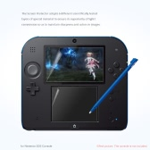 Professional Screen Protector Crystal LCD Film Guard Ultra Clear Skin Anti-scratch Cover for Nintendo 2DS Console