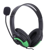 Deluxe Headset Headphone with Microphone and Volume Control for PS4 Controller & PC & PC