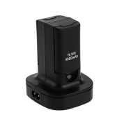 Charging Station Dual Charger Dock Wireless Controller Battery Charger 2*4800mAh Rechargeable Battery for Xbox 360