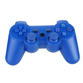 Wireless Bluetooth Game Controllor Bluetooth 4.0 Six Axis Double Vibration Gamepad Game Console Blue for PS3