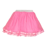 Cute Tiered Mesh PearlsTutu Yarn Princess Tulle Skirt for Girl