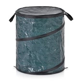Homgeek Portable Collapsible Pop-Up Leaf Trash Can Garbage Storage Bag Collection Bin 47*60cm Garden Camping Use