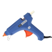 60W Professional Industrial Electric Hot Melt Glue Gun with 20pcs Glue Sticks Heating Craft Repair Tool