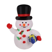 1.2m Inflatable Waving Hand Snowman for Christmas Cute Inflatable Xmas Decoration 3.9ft