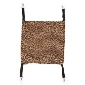Soft Cat Hammock Ferret Kitten Hammock Pad Small Pet Cats Cage Hanging Bed for Winter Use 35 * 35cm
