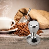 """High-quality Stainless Steel Coffee Tamper Barista Espresso Tamper Coffee Accessory 2.01""""Base"""