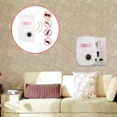 Electronic Ultrasonic Pest Repeller Non-toxic Mosquito Ants Spiders Roaches Repelling 90V-250V