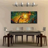 60*120cm Unframed Hand-painted Oil Painting Set Abstract Canvas Print Decoration for Home Living Room Bedroom Office Art Picture