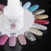 Abody 15ml Soak Off Nail Gel Polish Nail Art Professional Shellac Lacquer Manicure UV Lamp & LED 177 Colors 1864
