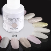 Abody 15ml Soak Off Nail Gel Polish Nail Art Professional Shellac Lacquer Manicure UV Lamp & LED 177 Colors 1361