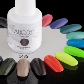 Abody 15ml Soak Off Nail Gel Polish Nail Art Professional Shellac Lacquer Manicure UV Lamp & LED 177 Colors 1435