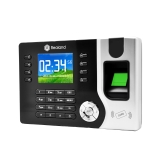 "Realand 2.4"" TFT LCD Display Biometric Fingerprint Attendance Machine ID Card Reader TCP/IP Function USB DC12V/1A Time Clock Recorder Employee Checking-in A-C071"
