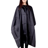 Black Salon Hairdressing Waterproof Haircutting Gown Hairdresser Hair Cutting Barber Hair Tool Cape Cloth Apron Shade