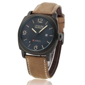 CURREN 8158 Men Wristwatch Water-resistant Leisure Style Fashion Vogue Military Quartz Date Watch