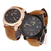 CURREN 8158 Men Wristwatch Water-resistant Leisure Style Fashion Vogue Military Quartz Date Watch