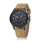 CURREN 8152 Men Wristwatch Water-resistant Leisure Style Military Analog Quartz Dress Watch