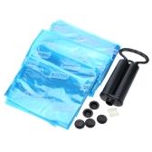 5Pcs Practical Vacuum Compressed Storage Bags Set Space-saving Dustproof with Manual Pump