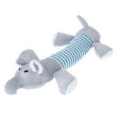 ANSELF Cute Small Animal Soft Plush Toy Squeaky Cat Dog Toy Squeeze Screaming Chew Toys Squeaky Pet Stuffed Toy