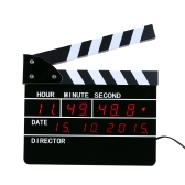 New Hot Sale Film Action Table Clock Director