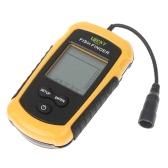 100m Portable Sonar Sensor Fish Finder Fishfinder Alarm Beam Transducer