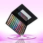 88 Color Professional Eye Shadow Palette Lady Makeup Eyeshadow Set Ultra Shimmer Cosmetis Beauty Nature Matte Warm Color
