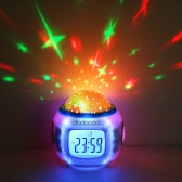 Music Starry Sky Projection Clock
