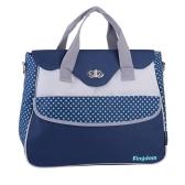 Baby Diaper Shoulder Bag Mummy Handbag with Changing Pad Liner Large Capacity Water Resistant