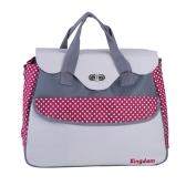 Baby Diaper Shoulder Bag Mummy Handbag with Changing Pad Liner Large Capacity Water Resistant